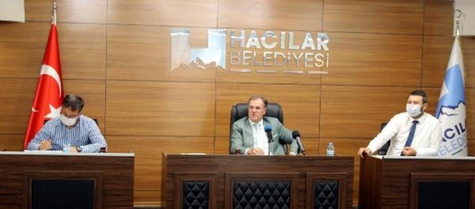 Hacılar Belediye Meclisi, Temmuz ayı toplantısını gerçekleştirdi