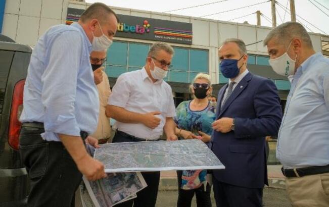 Bursa'da trafiği rahatlatmak için çalışmalar sürüyor