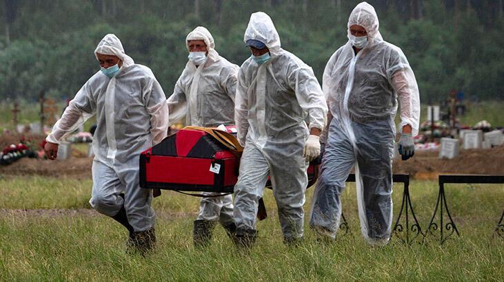 Son dakika: Rusya'da koronavirüs vaka sayısı 700 bini geçti