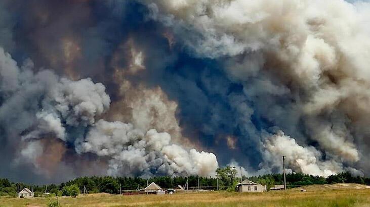 Ukrayna'daki orman yangınında bilanço artıyor