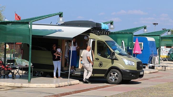 Karadeniz'de karavan tatili dönemi