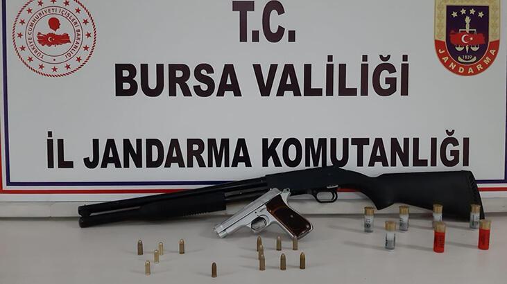 Bursa'da silah kaçakçılarına operasyon: Gözaltılar var