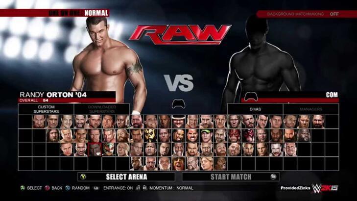 WWE 2K15 sistem gereksinimleri neler?