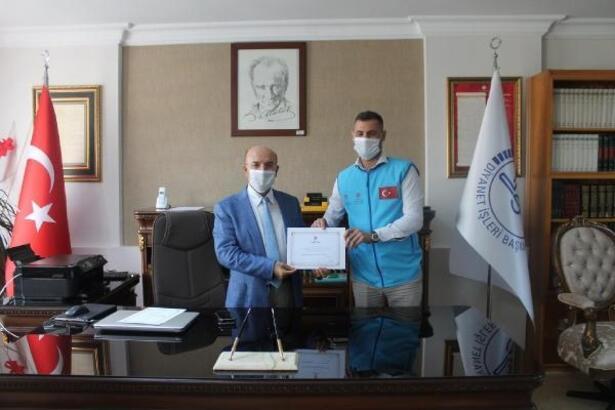 Din görevlilerinden TDV'ye vekaletle kurban bağışı