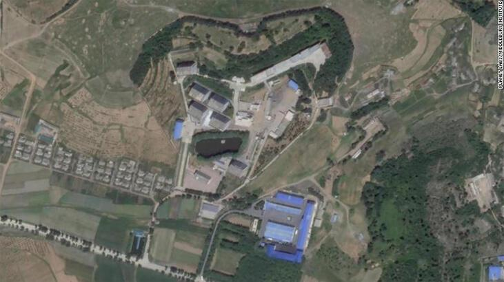 Kuzey Kore'de nükleer başlık üretilen yeni tesis uydudan göründü