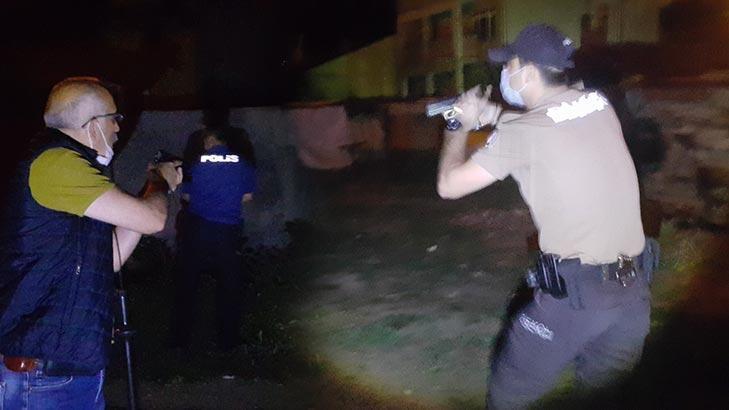 Kavga ettiği kişilerin üzerine ateş açtı! Polis eve baskın yaptı