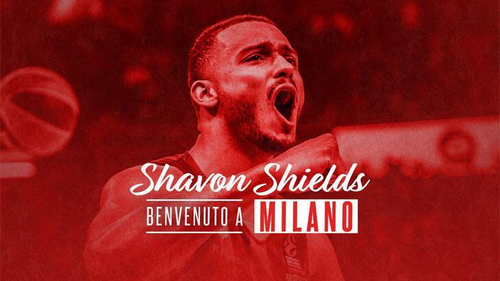 AX Armani Exchange Milan, Shavon Shields'ı renklerine bağladı