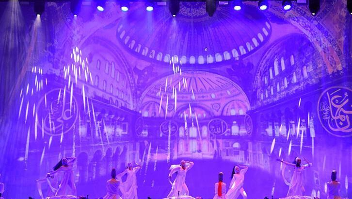 Anadolu Ateşi 20. yılını Yenikapı'da kutladı