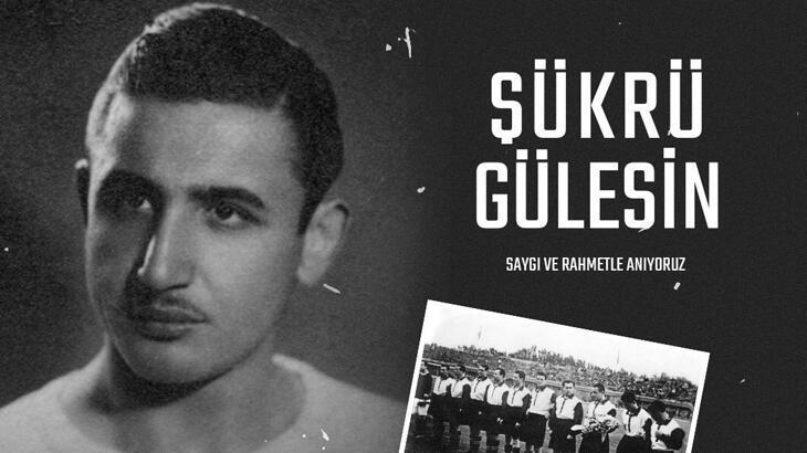 Beşiktaş, Şükrü Gülesin'i andı