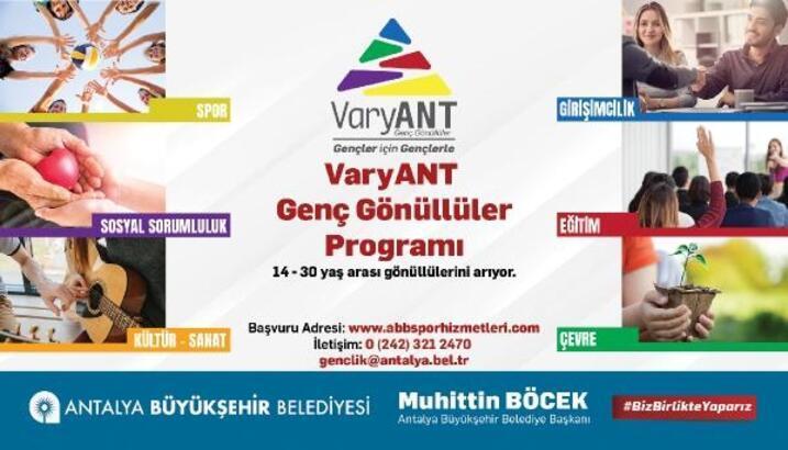 'VaryANT Genç Gönüllüler' Programı başladı
