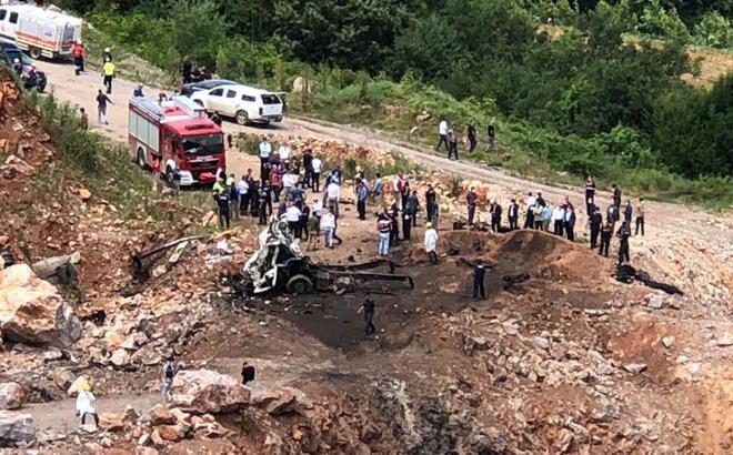 Sakarya'daki ikinci patlama! Jandarma Genel Komutanlığı'ndan son dakika açıklaması