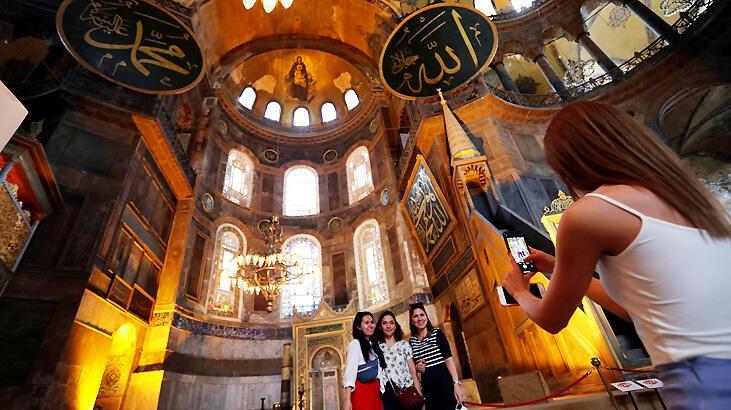 Son dakika... Dünya Türkiye'ye kilitlendi, ilk fotoğraflar geldi! Ayasofya kararı...