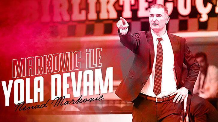 Gaziantep Basketbol, Markovic'in sözleşmesini uzattı!