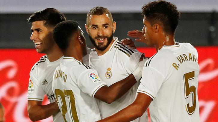 Madrid şampiyonluğa koşuyor! Real Madrid - Alaves: 2-0
