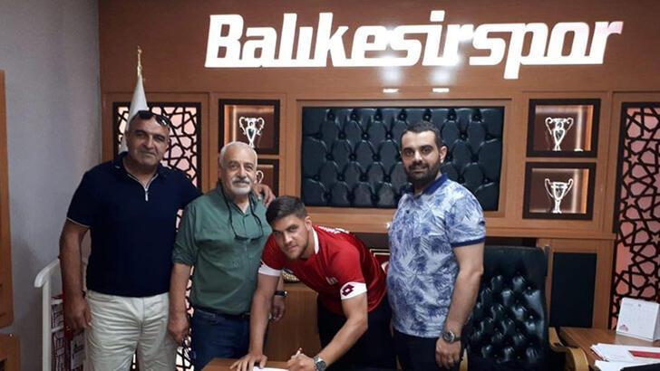Almanya 4. Ligi'nden Balıkesirspor'a transfer oldu