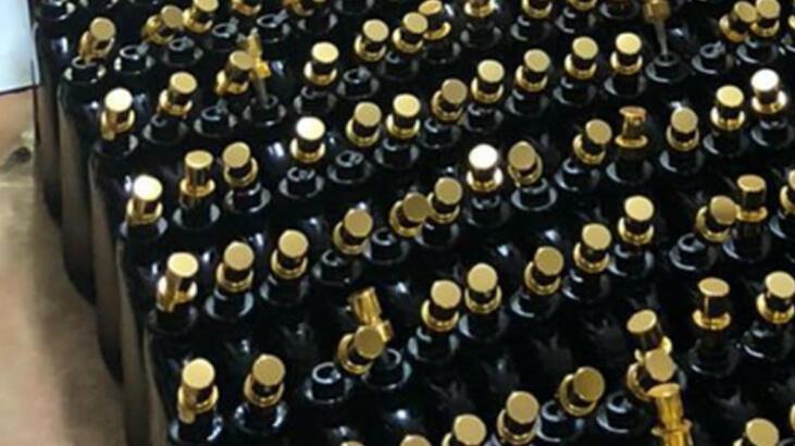 Sancaktepe'de sahte parfüm operasyonu