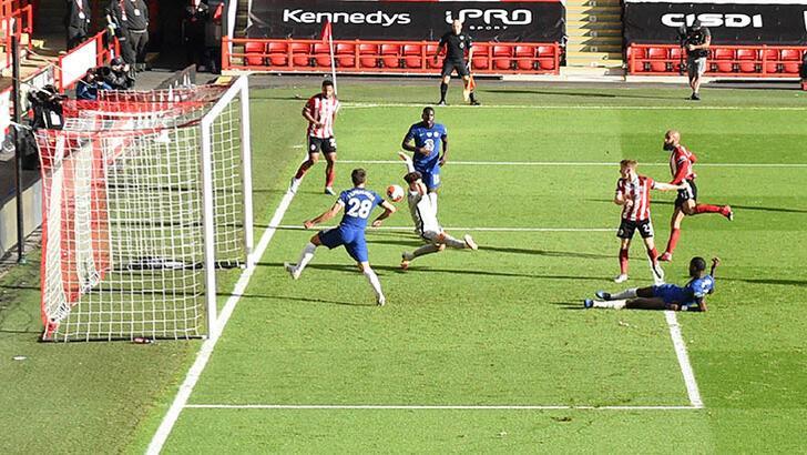 Chelsea, Sheffield United'a dağıldı!