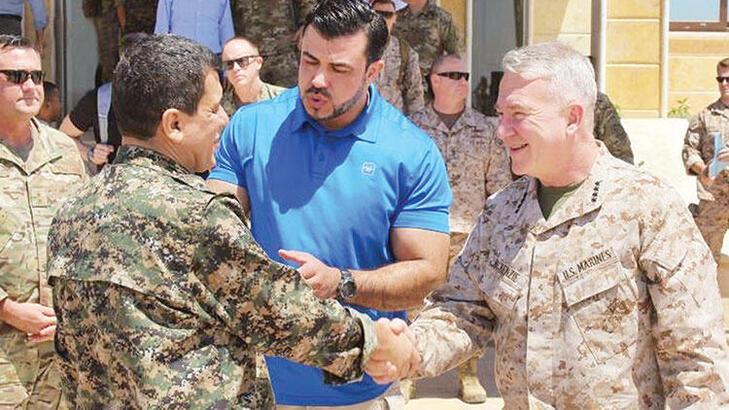 Son dakika! ABD'li komutan yine terörist Abdi ile görüştü