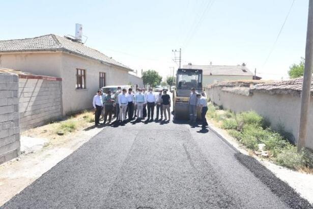 Karatay geneline 200 bin ton asfalt serimi yapılacak