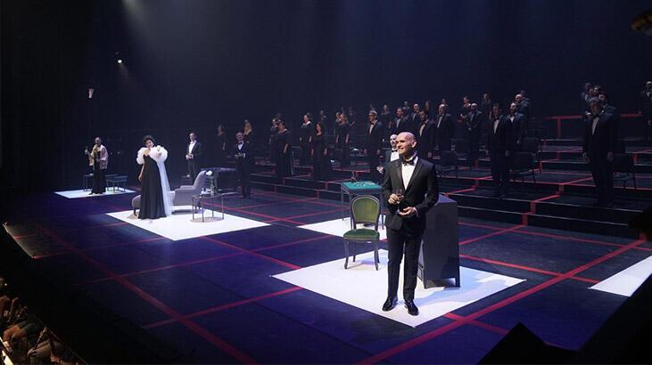 Sosyal mesafeli La Traviata