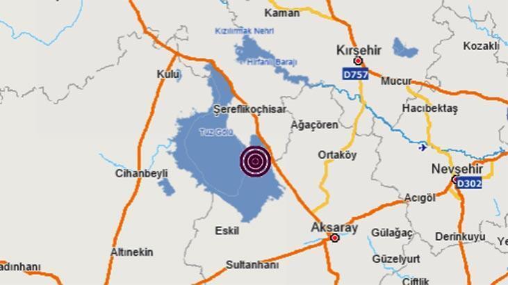 Son dakika haberi: Ankara'da 3.6 büyüklüğünde deprem