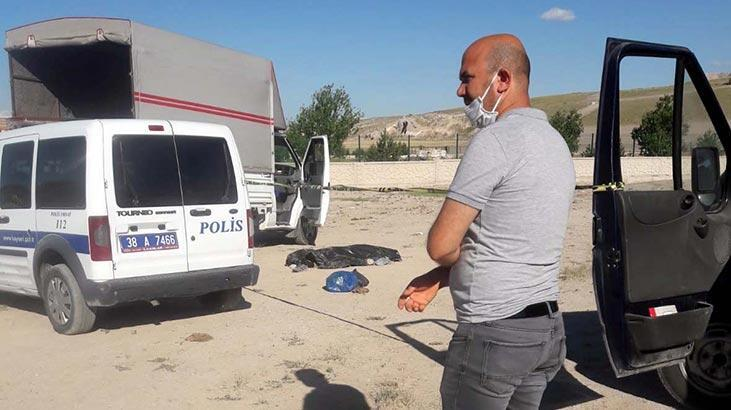 Kayseri'de kan donduran olay! Aracında böyle bulundu