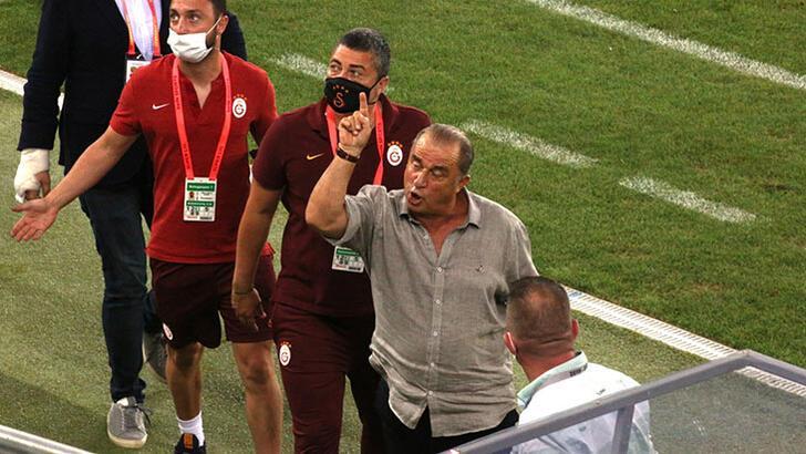 MKE Ankaragücü - Galatasaray maçı sonrası gerginlik! Fatih Terim...