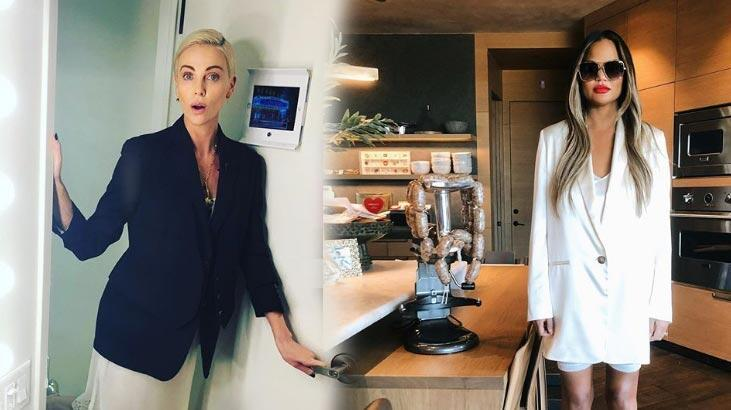 Charlize Theron ve Chrissy Teigen'dan Gaziantep baklavasına övgü