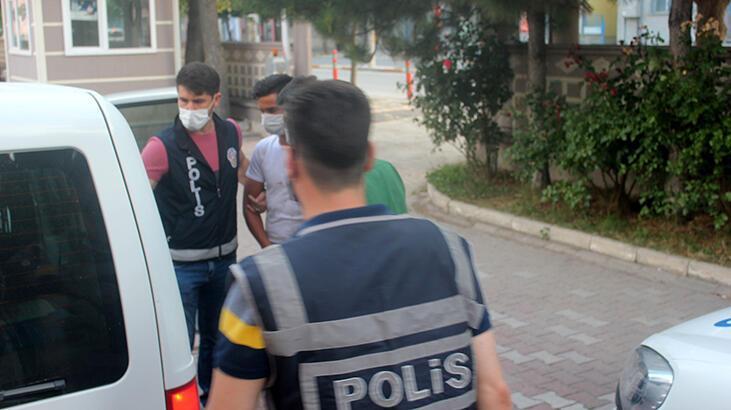 Evden 15 bin liralık hırsızlığa 2 tutuklama
