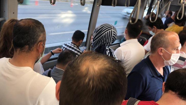 Son dakika... Metrobüslerde tıka basa yolculuk! Seferlerin artırılmasını istediler