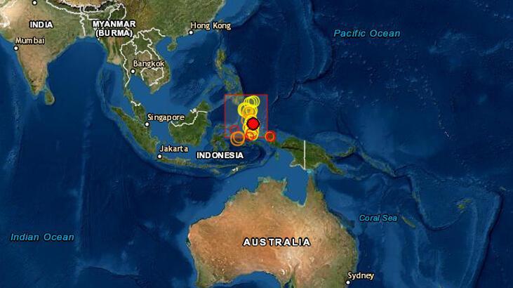 Endonezya'da 5.5 büyüklüğünde deprem