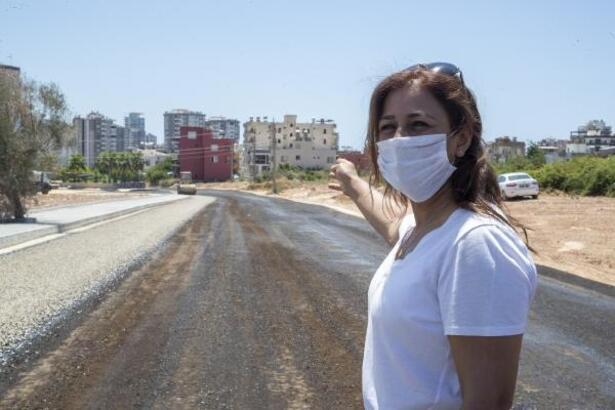 Mersin'de yollar asfaltlanıyor
