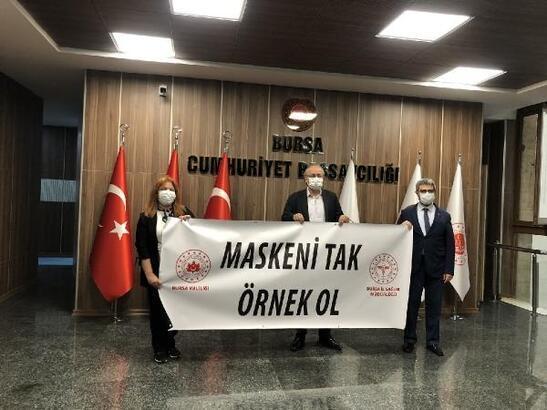 Bursa İl Sağlık Müdürü Kaşıkcı'dan adliye ziyareti