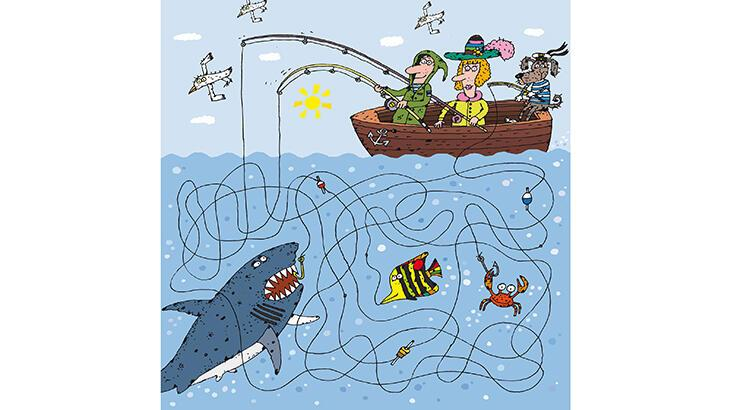 Köpekbalığını kim yakaladı?