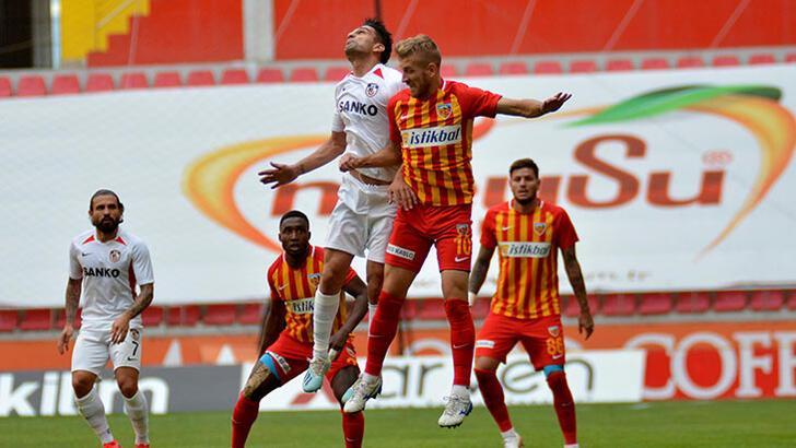 Kayserispor-Gaziantep FK: 1-1