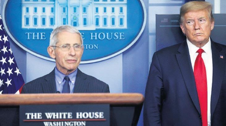 ABD'yi sallayan iddia! Beyaz Saray'ın hedefinde Fauci var