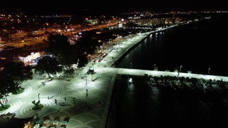 Balıkesir Büyükşehir Belediyesi, Güre ve Altınkum sahil şeridini yeniledi