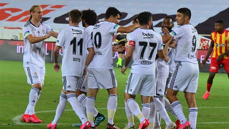 Yeni Malatyaspor - Beşiktaş: 0-1