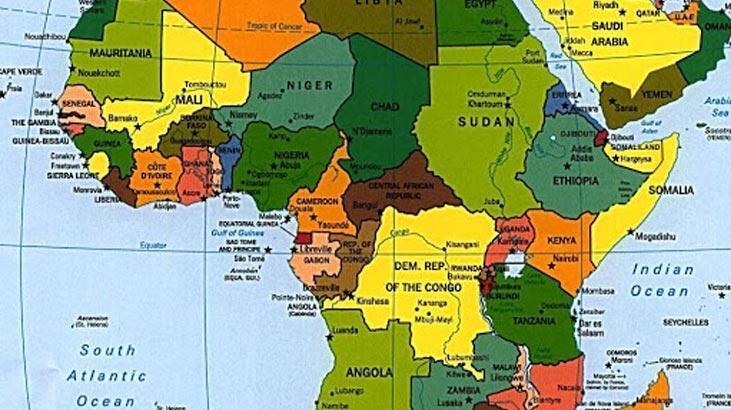 Afrika Kıtası Ülkeleri Hangileridir? Başkent İsimleri İle Birlikte Afrika Ülkeleri