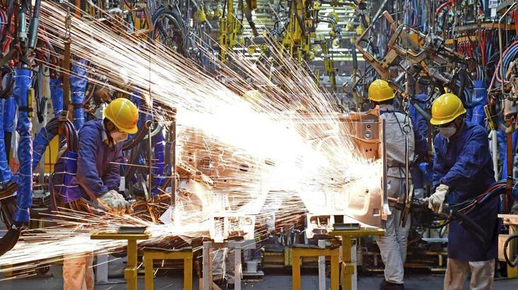 Avrupa Birliği'nde sanayi üretimi yükseldi