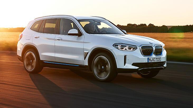 Yeni BMW iX3 yollara çıkıyor! 10 dakika şarjla 100 kilometre gidiyor