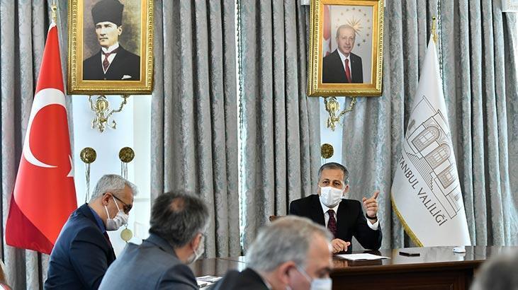 İstanbul Valiliği'nde Ayasofya toplantısı