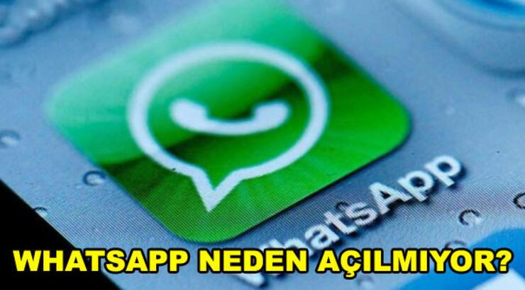 WhatsApp çöktü mü? WhatsApp WEB'e neden erişilemiyor, mesaj gönderilemiyor?