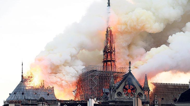 Notre Dame'ın çan kulesi korunacak
