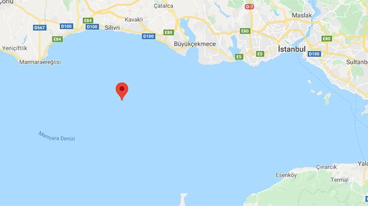 Son dakika... Marmara Denizi'nde deprem