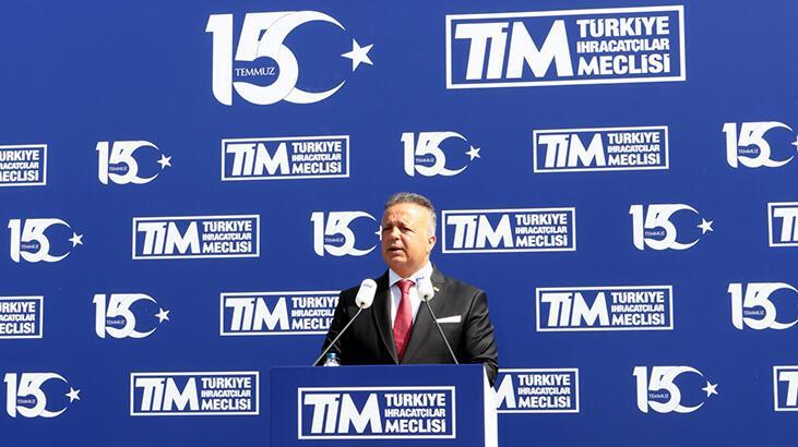 TİM, 15 Temmuz şehitlerini Dış Ticaret Kompleksi'nde andı
