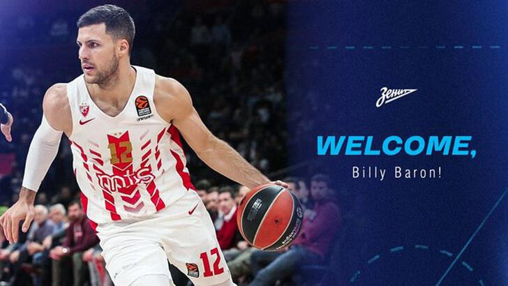Son dakika | Zenit, Billy Baron'u transfer etti