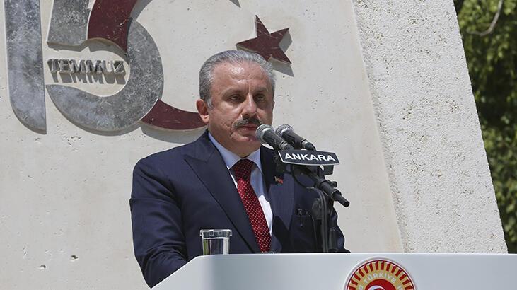 Meclis Başkanı Mustafa Şentop'tan 15 Temmuz açıklaması