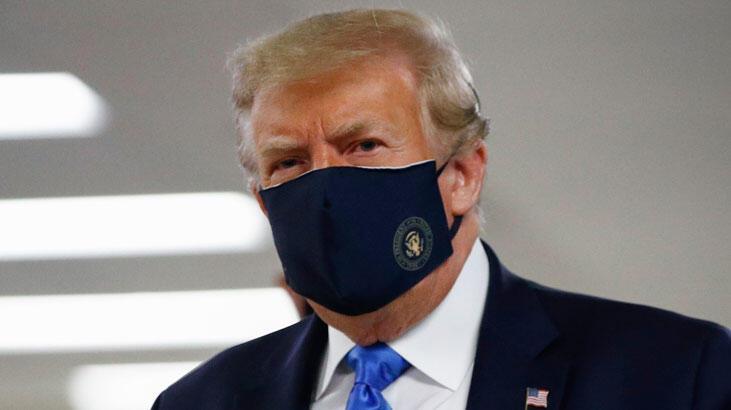 Trump iyice uçtu! Meksika duvarı koronavirüsü yavaşlattı...