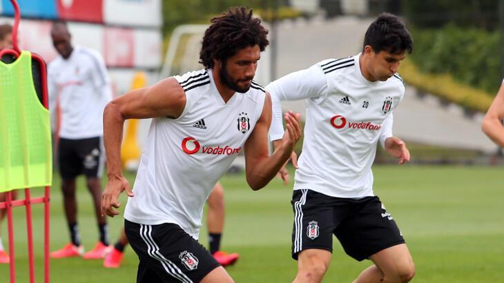 Beşiktaş derbi hazırlıklarına başladı